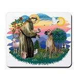 St. Fran. #2 / Great Dane (nat) Mousepad
