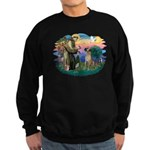 St. Fran. #2 / Great Dane (nat) Sweatshirt (dark)