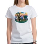 St. Fran. #2 / Great Dane (nat) Women's T-Shirt