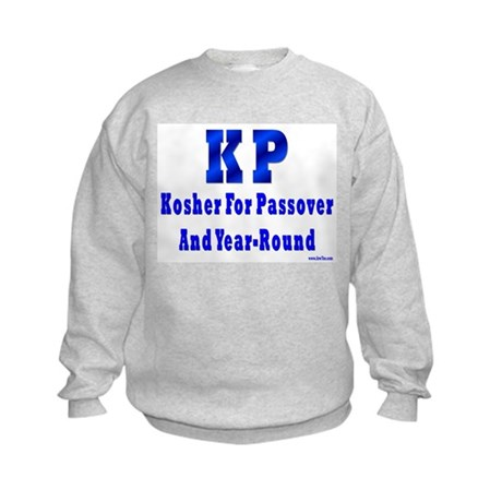 Kosher 4 Passover Kids Sweatshirt