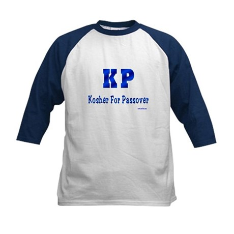 KP Kosher For Passover Kids Baseball Jersey