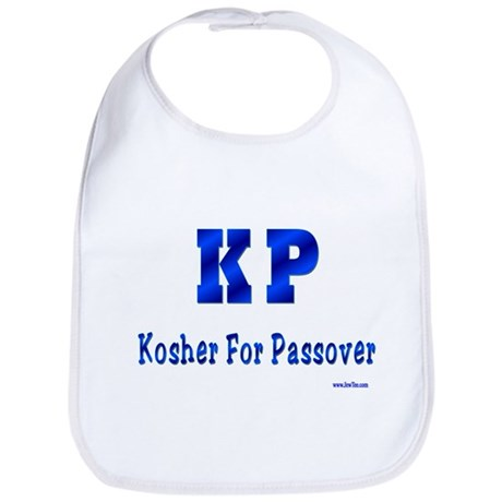 KP Kosher For Passover Bib