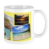 St. Thomas USVI collage Small Mug
