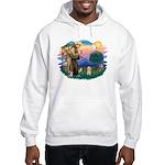 St.Fran. #2/ Havanese pup Hooded Sweatshirt