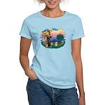 St.Fran. #2/ Havanese pup Women's Light T-Shirt