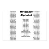 Funny Binary Postcards (Package of 8)