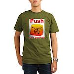 Complete with Button Organic Men's T-Shirt (dark)