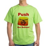 Complete with Button Green T-Shirt
