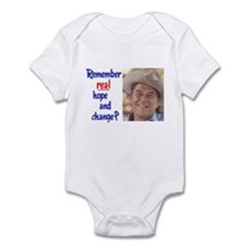 real hope and change Infant Bodysuit