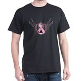 Awareness Tribal Pink T-Shirt