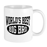 World's Best Big Brother Small Mug