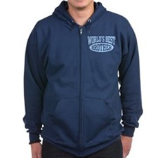 World's Best Brother Zip Hoodie
