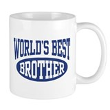 World's Best Brother Small Mug