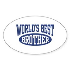 World's Best Brother Decal