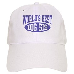 World's Best Big Sister Cap