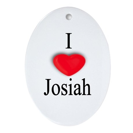 Josiah Oval Ornament