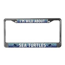 Sea Turtle License Plate Frame