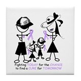Rett Syndrome Awareness Tile Coaster