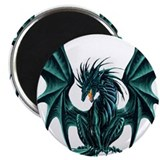 "Ruth Thompson's Jade Dragon 2.25"" Magnet (10 pack)"