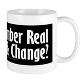 Real Hope and Change Small Mugs