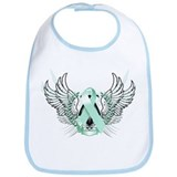 Awareness Tribal Teal Bib