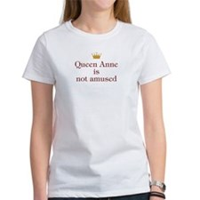 Personalized Queen Not Amused Tee