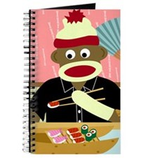 Sock Monkey Sushi Journal