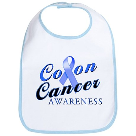 Colon Cancer Awareness Bib