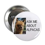 Samsuri Alpaca Giftware 2.25&amp;quot; Button