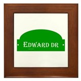 Edward Dr Framed Tile