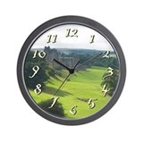 Alnwick Castle Wall Clock