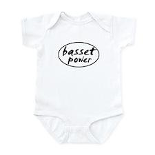 Basset POWER Infant Bodysuit