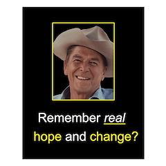 Reagan Remember Real Hope Posters