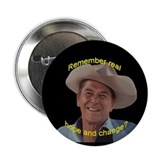 "Reagan Remember Real Hope 2.25"" Button (10 pa"