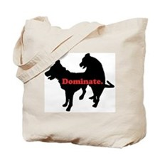 Humping Dogs Tote Bag