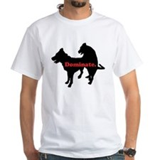 Humping Dogs T-Shirt (white)