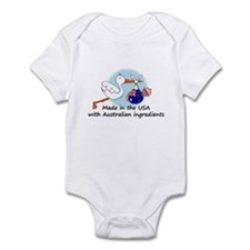 Stork Baby Australia USA Infant Bodysuit