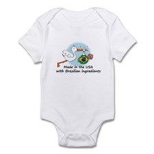 Stork Baby Brazil USA Infant Bodysuit