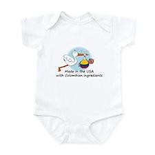 Stork Baby Colombia USA Infant Bodysuit