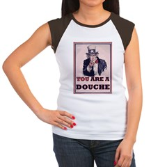 You Are A Douche! Women's Cap Sleeve T-Shirt