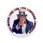 "You Made O B A M A 3.5"" Button (100 pack)"