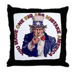 You Made O B A M A Throw Pillow
