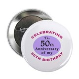 "Funny 80th Birthday Gag 2.25"" Button"