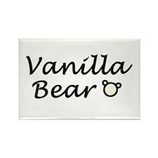 'Vanilla Bear' Rectangle Magnet (10 pack)