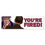 You're Fired Sticker (Bumper 50 pk)