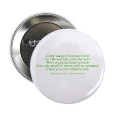 "Yeats Faery Quote 2.25"" Button"