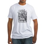 Eat Drink Be Merry 2 Fitted T-Shirt