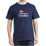 My Heart: Cornelius Black T-Shirt