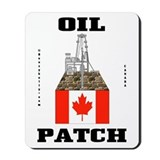 Canada Oil Patch Mousepad,Oil Field,Oil,Gas
