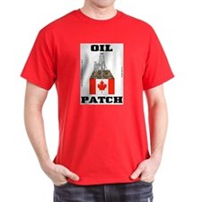 Canada Oil Patch T-Shirt,Canadian,Oil